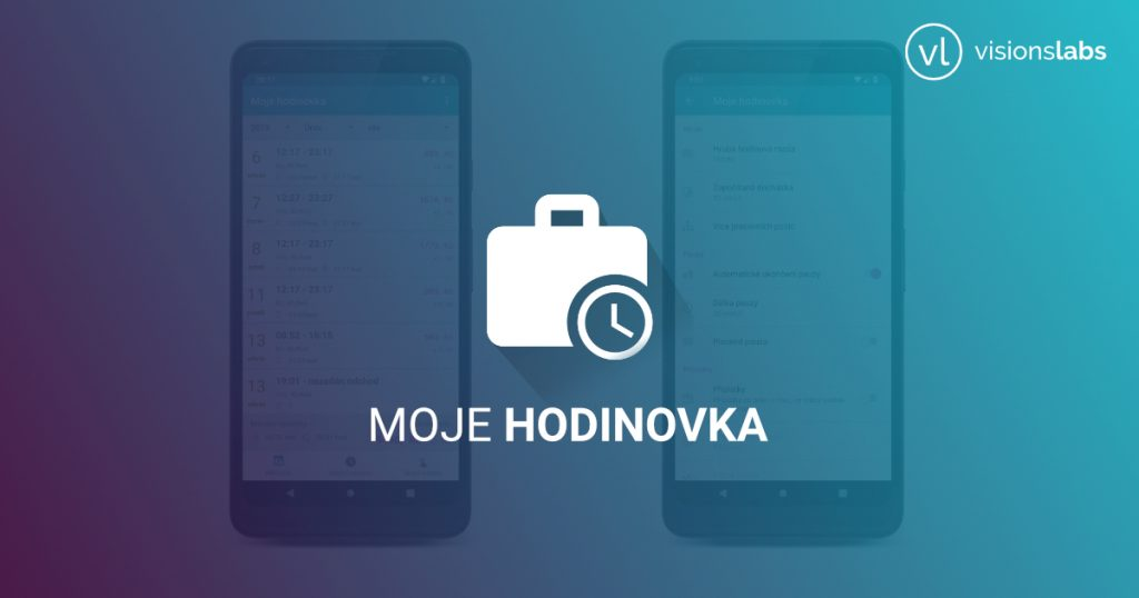 Moje hodinovka - android - mobilní aplikace - Workarys
