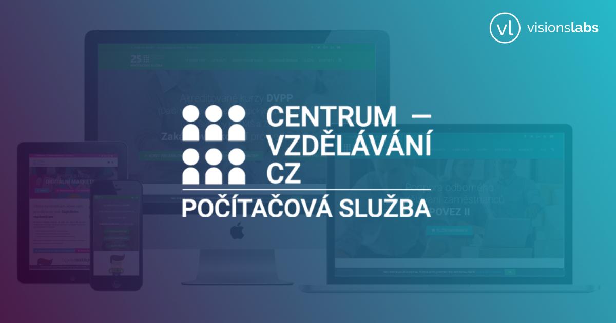CENTRUM-VZDĚLÁVÁNÍ.CZ - Webové stránky