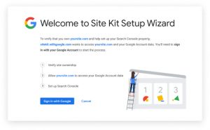 Google Site Kit - WordPress