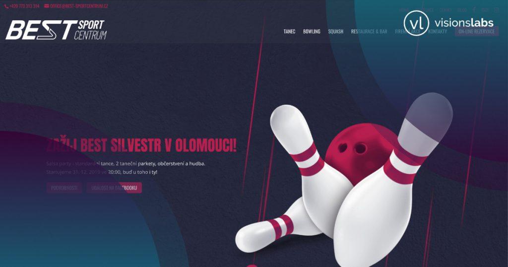 Aktualizace s optimalizací webu olomouckého BEST Sportcentra