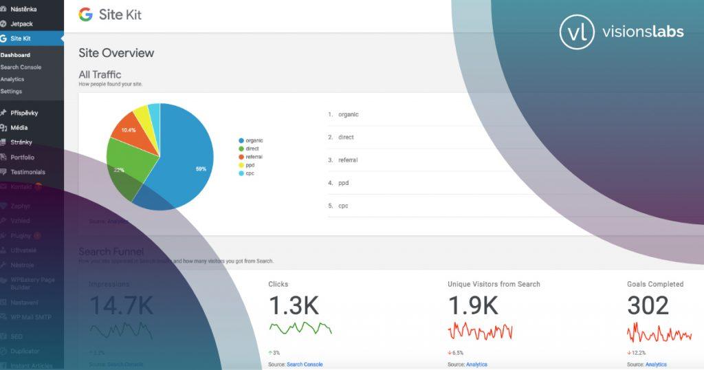 Nový plugin pro WP - Google Site kit + Seznam Webmaster