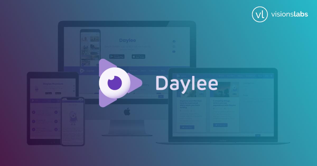 Daylee - osobní video deník - web - brno