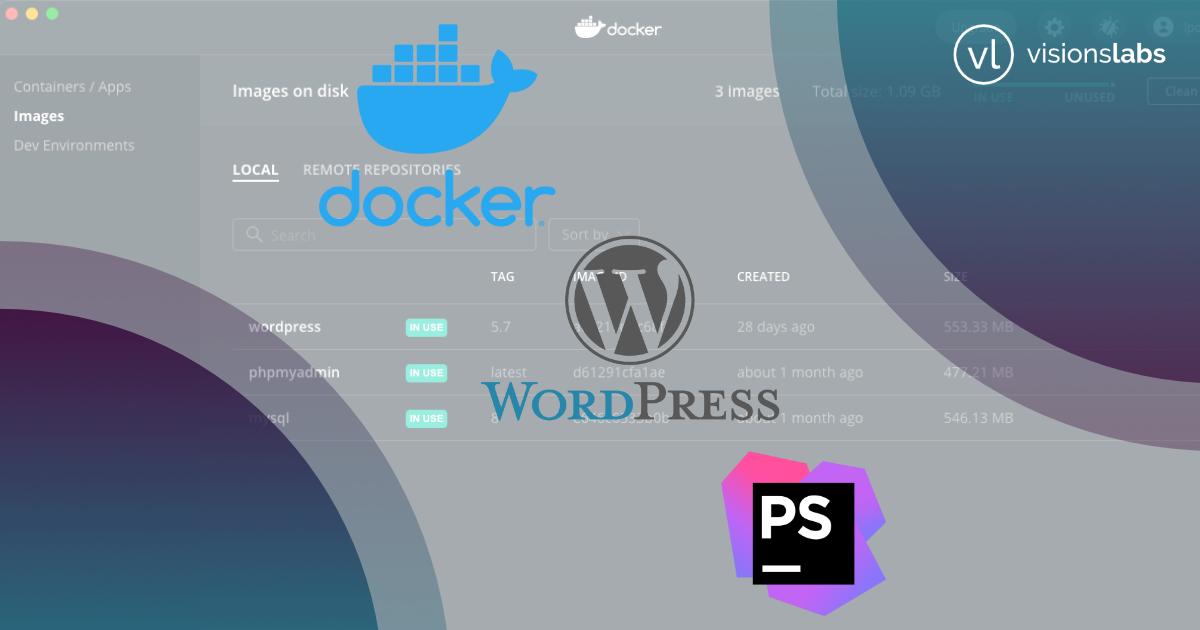 Vývoj ve WordPressu pomocí Docker a PHPStorm