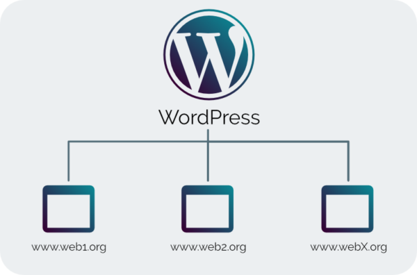 wordpress - visionslabs - multisite